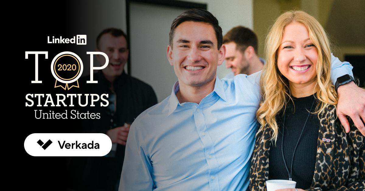 Verkada Voted 2020 LinkedIn Top Startups