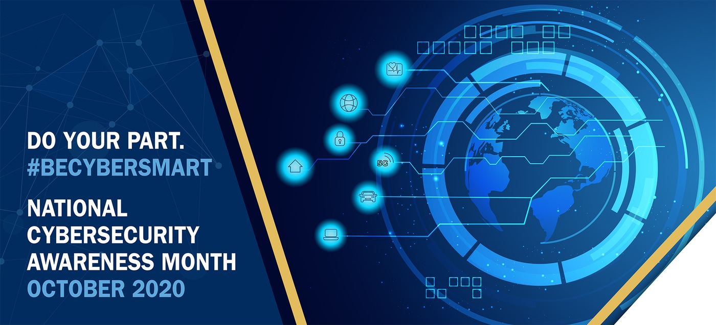 National Cybersecurity Month Banner