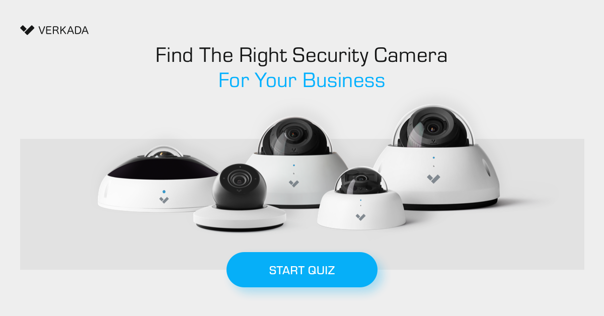 Find the right security camera for your business