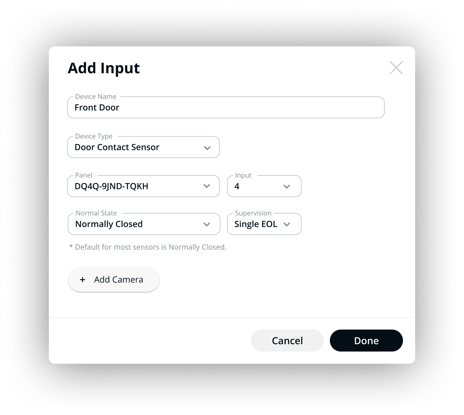 Alarm Panel and Input / Output Integrations