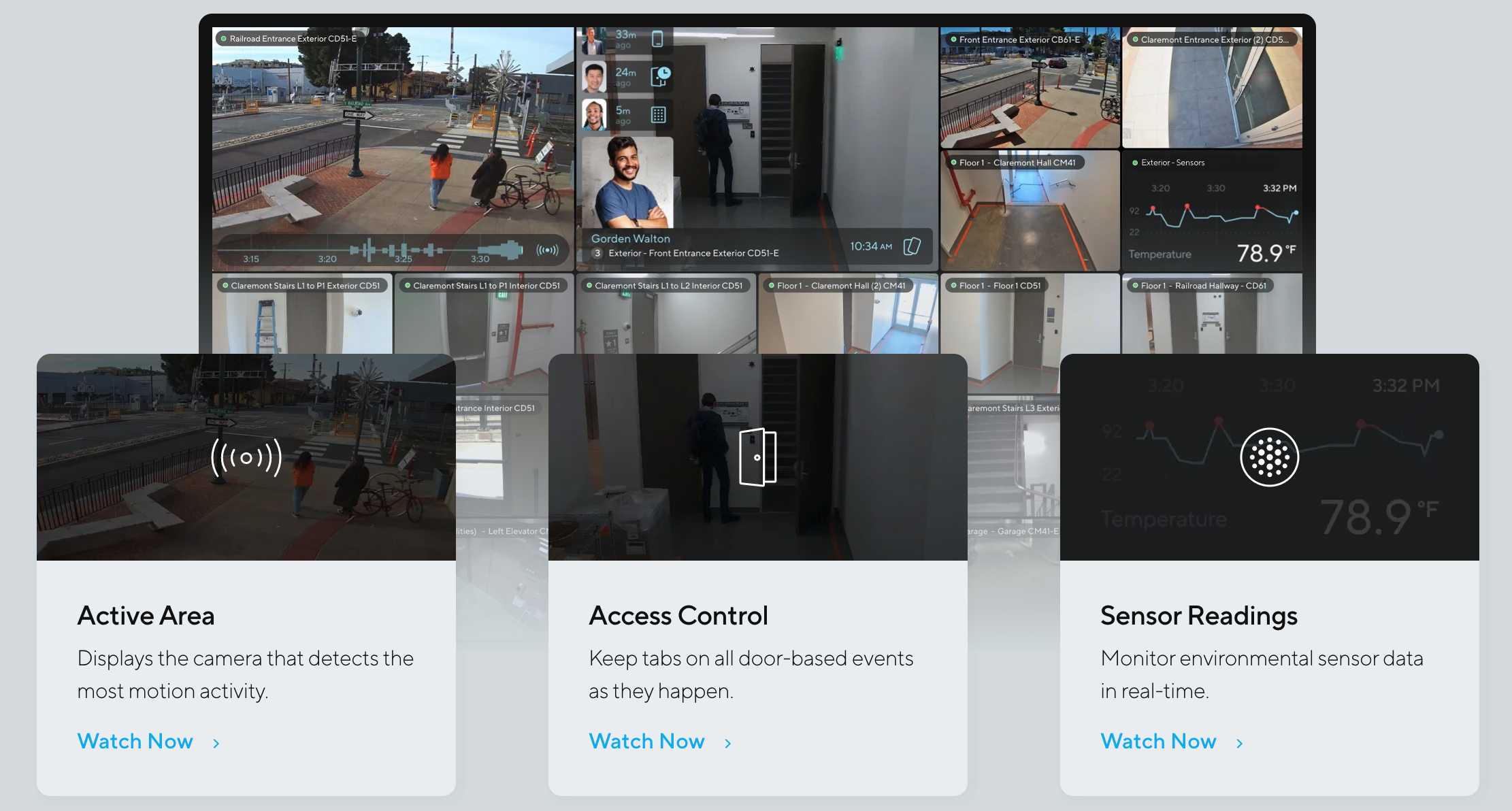 Viewing Station Live Monitoring Smart Tiles